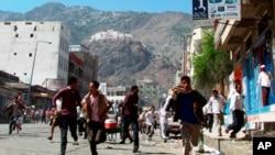 也門塔伊茲市的戰鬥仍然持續顯示部落勢力和忠於總統薩利赫的部隊之間的停火協議瓦解