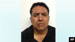 This mug shot released by Mexico's Interior Ministry on July 15, 2013, shows Zetas drug cartel leader Miguel Angel Trevino after his arrest.