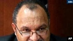 পাপুয়া নিউ গিনির প্রধানমন্ত্রী বলেছেন সামরিক বিদ্রোহের অবসান হয়েছে