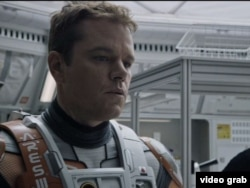 "Matt Damon plays Mark Watney in ""The Martian."""