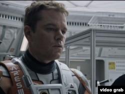 "Matt Damon plays Mark Watney in ""The Martian."""