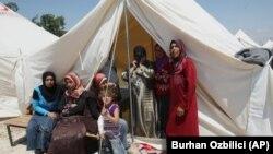 یکی از اردوگاههای آوارگان سوری در ترکیه - از شروع ناآرامی ها در سوریه نزدیک به یک میلیون سوری در ترکیه اسکان یافته اند.