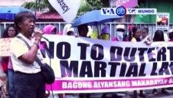 Manchetes Mundo 4 Julho: Filipinos manifestam-se contra lei marcial de Duterte