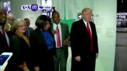 """Manchetes Americanas 21 Fevereiro 2017: Trump condenou também recentes incidentes anti-semitas como """"horrorosos e dolorosos"""""""