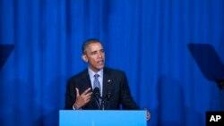 """TT Obama với chiến lược """"tái cân bằng ở châu Á – Thái Bình Dương"""" đã 9 lần đi thăm các quốc gia Á châu trong 7 năm qua."""