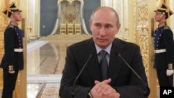 Russian President Vladimir Putin, July 21, 2012.