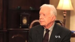 Jimmy Carter Issues 'Call to Action' to Stop Abuse Against Women