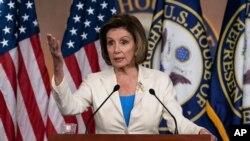 Nancy Pelosi, predsjedavajuća Predstavničkim domom američkog Kongresa (Foto: AP)