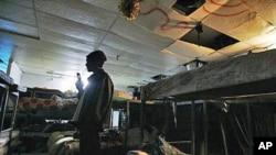 Refugiados africanos num dos centros de acolhimento erguido pelo govero em Telaviv