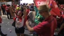 Crece descontento en Brasil
