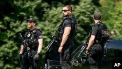Anggota Dinas Rahasia AS dalam kondisi siaga tinggi di Gedung Putih dalam insiden hari Jumat (20/5).