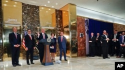 Trump em acalorada conferência de imprensa em Nova Iorque