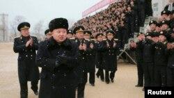 北韓領導人金正恩。(資料圖片)
