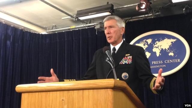 Tư lệnh Hoa Kỳ ở Thái Bình Dương, Đô đốc Samuel Locklear