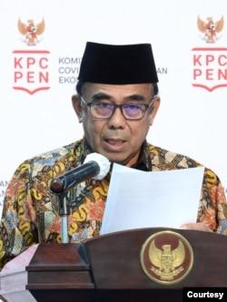 Menteri Agama Fachrul Razi dalam telekonferensi pers, di Istana kepresidenan, Jakarta, Rabu, 25 November 2020. (Biro Setpres).