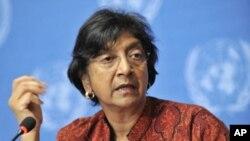 Navi Pillay, Alta Comissária das Nações Unidas para os Direitos Humanos