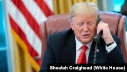 دونالد ترامپ رئیس جمهوری آمریکا - آرشیو