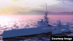 El ACTUV, un submarino no tripulado del ejército de EE.UU. comenzó pruebas frente a la costa de San Diego a principios de 2016.