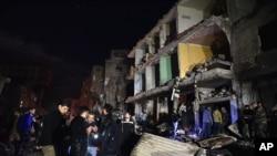 Sayyida Zeinab, uma das zonas atingidas pelos ataques