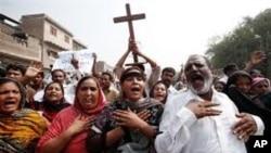 مظاهرات پاکستان