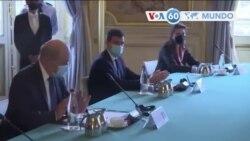 Manchetes mundo 5 Outubro: Encontro EUA-França para apaziguar tensão do acordo Indo-Pacífico