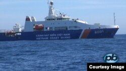 A Vietnamese Coast Guard ship in the South China Sea, May 18, 2014. (PhoBolsaTV.com)