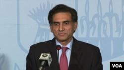 پاکستان کی وزارتِ خارجہ کے ترجمان اعزاز احمد چودھری (فائل فوٹو)