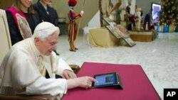El Papa Benedicto XVI causó gran expectativa cuando lanzó su cuenta de Twitter.