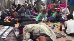 Asylum-Seekers Continue Their Wait at US-Mexico Crossing