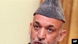 카르자이 아프간 대통령