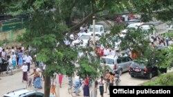 ေျဖရွင္းေပးခဲ့တဲ့ သာေကတ ၿမိဳ႕နယ္ အေထြေထြ အုပ္ခ်ဳပ္ေရးရံုး (သတင္းဓါတ္ပံုCredit to- Myanmar Muslims Media )