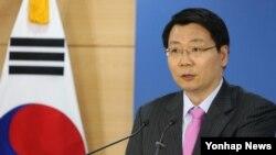 김형석 한국 통일부 대변인. (자료사진)