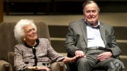 芭芭拉·布什体弱多病决定接受宁养疗护不再寻求医治