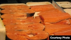 Salmon is a popular source of fish oil.