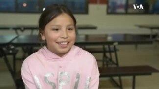 美洲原住民女孩通过社团帮助追求梦想