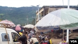 Un marché en Guinée