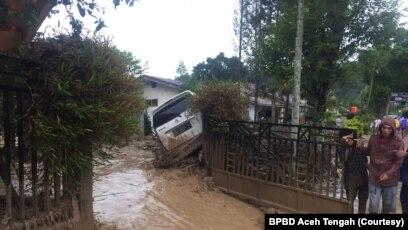 Banjir Bandang Di Aceh Tengah 4 Luka Puluhan Mengungsi