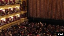 莫斯科大剧院内景(美国之音白桦拍摄)