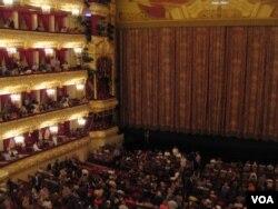 莫斯科大劇院內景(美國之音白樺拍攝)