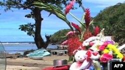Пострадавшие от цунами жители Самоа ищут утешение в религии