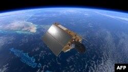 تصویری از ماهواره جدیدی که سطح دریاها را اندازه می گیرد و از نوامبر ۲۰۲۰ آغاز به کار کرده است