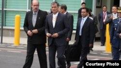 El presidente de Ecuador Rafael Correa viajó el martes a La Habana para asistir al funeral del exgobernante cubano Fidel Castro.