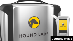 California-based Hound Labs Inc. says it has created the world's first device to measure both alcohol and marijuana levels in a person's system. (Photo: Hound Labs Inc.)