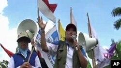 ผู้นำกลุ่มแรงงานในอินโดนีเซีย ต้องการให้รัฐบาลยกเลิกข้อตกลงการค้าเสรีกับจีน