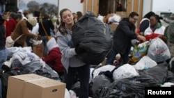 Esta imagen podría ser de un país de América Latina, pero no, es de Nueva Jersey, allí son miles los damnificados. La tragedia sigue.