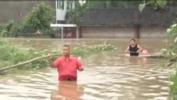 湖北郧县豪雨造成重大损失