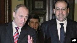 В.Путин и Нури аль Малики
