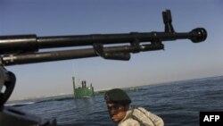 Pripadnici iranskih oružanih snaga tokom tekućih vojnih vežbi u Persijskom zalivu