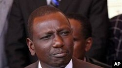 Kenya's suspended higher education minister William Ruto in Nairobi, Kenya (File Photo)