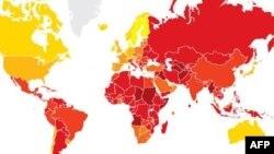 Україна зайняла 134 місце в світі за рівнем корупції